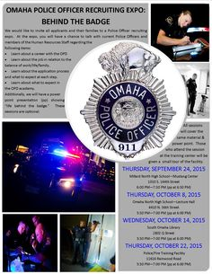 2015 Omaha Police Officer Recruitment Expo: Behind the Badge