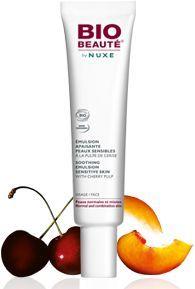 Emulsion Apaisante Peaux Sensibles de Bio Beauté by Nuxe : Fiche complète, boutiques en ligne et 18 avis consos pour bien choisir vos crèmes jour et nuit.