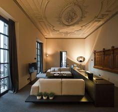 Caro Hotel by Francesc Rifé Studio + Fortuny lamp