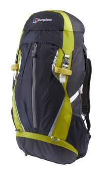 http://www.breakingfree.co.uk Carry all the gear you need with ease with the improved Freeflow 35+8 Litre Rucsac, a day sack designed with your comfort in mind.  Built on the new Berghaus Freeflow V backsystem it provides a comfortable fit throughout your hike and allows airflow and ventilation where it really counts. With adjustable back height and a lower profile gap between you and the pack it provides improved load carriage and stability.