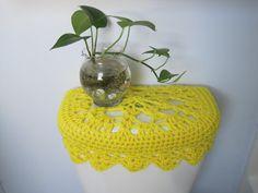 Crochet Toilet Tank Lid Cover