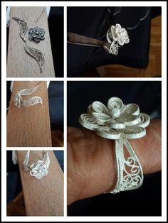 Gümüş telkari yüzük. #handmade - by oya