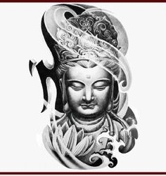 If I take a tattoo of a Buddha, it would be like this.