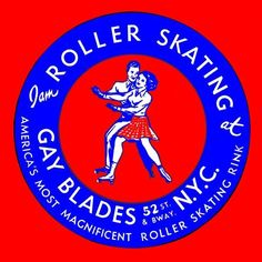 Roller Skating decal