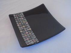 Vicky Harris - Kiln fused platter