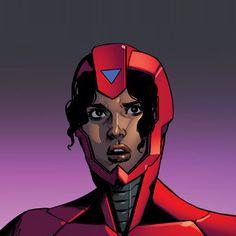 Marvel Women, Marvel 3, Marvel Girls, Comics Girls, Marvel Heroes, Marvel Universe, Marvel Comics, Iron Heart Marvel, Serie Marvel