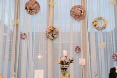 Reception area decoration