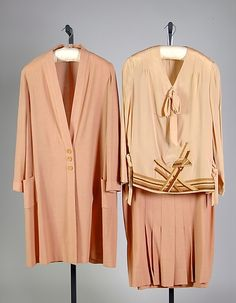 Suit  1928  The Metropolitan Museum of Art