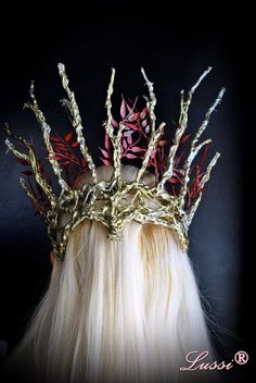 Направи си сам: Короната на Трандуил и грим / DIY: Thranduil crown and elven make up