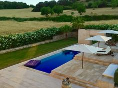 Contemporary Mediterranean Garden Design by Contemporanium #gardendesign #Contemporanium #Mallorca