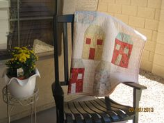"""""""knox's neighborhood"""" pattern by the shabby trunk on facebook. sample sewn by betsy v!"""