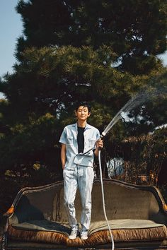 soft bear — Chanyeol for Trends Health Exo Chanyeol, Exo Ot12, Chanbaek, Kyungsoo, Baekyeol, Kpop Exo, Youngjae, Got7, Rapper