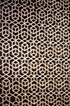 Islamic Art - Maharajah's Palace, Jaipur - I find quilt patterns in this and wonder how best to translate the design.