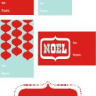 My Free Printable Holiday Tags | Paper Crave