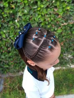 Braided Mohawk Hairstyles, Cute Girls Hairstyles, Work Hairstyles, Curly Hair Styles, Natural Hair Styles, Girl Hair Dos, Little Girl Braids, Cool Braids, Toddler Hair