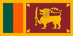 Sri Lanka Country Flag