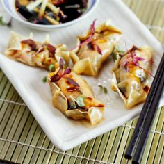 Prawn and Shitake Dumplings