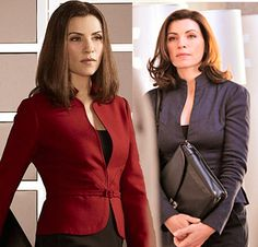And while I don't follow the show, I love Julianna Margulies's look in The Good Wife.