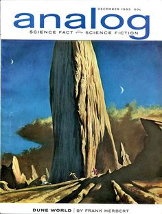 Analog Science Fact - Science Fiction, December 1963. Cover by John Schoenherr.