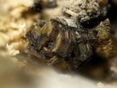 Caresite-3T. Poudrette quarry (Demix quarry; Uni-Mix quarry; Desourdy quarry), Mont Saint-Hilaire, Rouville Co., Québec, Canada Taille=2.5 mm Copyright Stephan Wolfsried