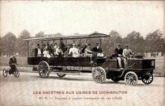 De Dion Bouton Steam Bogie drawing an omnibus