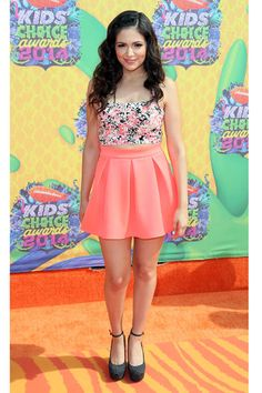 From Bella's Romper to Zendaya's Cutoffs, the Kids' Choice Awards Orange Carpet Showed off the Ultimate Spring Party Wardrobe