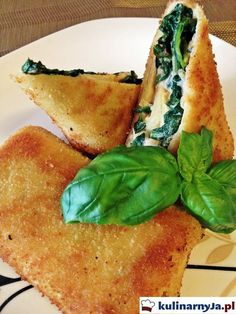 Croquettes with spinach, ricotta and dried tomatoes Vegan Recipes Easy, Meat Recipes, Vegetarian Recipes, Snack Recipes, Cooking Recipes, Recipies, Good Food, Yummy Food, Vegan Dinners