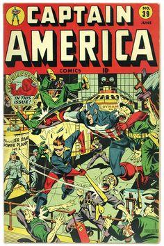 Captain America 39, 1944
