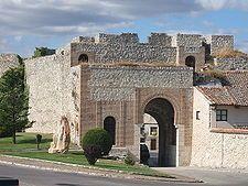 Segovia Cuellar Arco de San Basilio