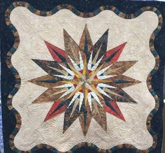 Vintage Compass, Quiltworx.com, Made by Cathy Lawrence Moore