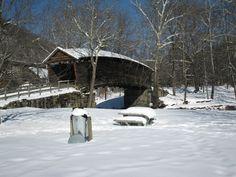 Bridges: Humpback Bridge Covered Bridges Va Covington Snow Scenes ...
