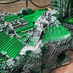 Lego Machu Picchu in London's Covent Garden | Llama-rama