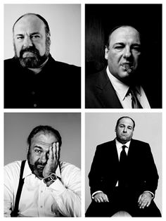 Les Sopranos, Tony Soprano, Human Icon, Actor Studio, Face Expressions, Best Tv Shows, Hollywood Stars, Portrait Photography, White Photography