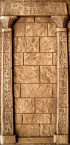 Tomb Raider:  #Tomb #Raider ~ Egyptian wall detail.