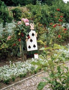 What about an Alice in Wonderland Theme Garden?