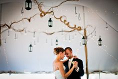 LOVE the lamps in the tent