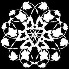 Ivy | by beautifulcataya Paper Ornaments, Holiday Ornaments, Vinyl Crafts, Paper Crafts, Diy Snowflakes, Fun Easy Crafts, Snow Flakes Diy, Paper Sculptures, Oragami