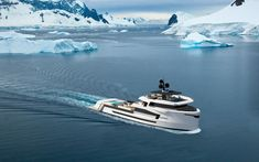 Luxury in all conditions - Ocean Magazine Yacht Design, Boat Design, Explorer Yacht, Camper Boat, Sport Fishing, Ways To Travel, Power Boats, Catamaran, Armored Vehicles