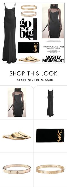 """""""Mostly.."""" by nfabjoy ❤ liked on Polyvore featuring Voz, Prada, Yves Saint Laurent, Cartier and Serfontaine"""