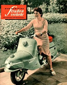 couverture Cezeta Moped Motorcycle, Enfield Motorcycle, Bike, Vespa Girl, Scooter Girl, Scooters, Vintage Cars, Vintage Ladies, Scooter Custom