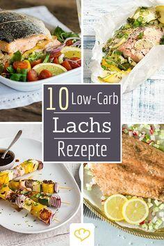 10 kohlenhydratarme Lachs Rezepte, die so gar nicht nach Low-Carb schmecken. Denn Immer nur Salat – ist auch irgendwie öde, oder? Besser hören sich da doch Grillspieße und Ofenlachs oder gefülltes Lachsfilet mit Apfel und Fenchel auf Cidre-Sauce an. Findest du nicht auch?