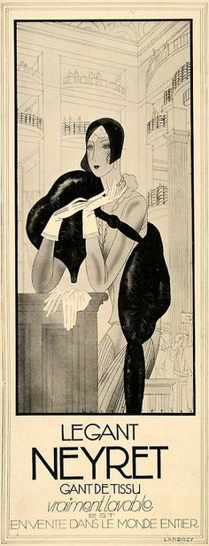 French Deco poster