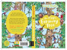 Mark Beech created this front cover for the classic Enid Blyton's book The Magic Faraway Tree. #enidblyton #themagicfarawaytree To see more of Mark's work please visit www.nbillustration.co.uk
