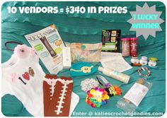 HUGE 10 Vendor Giveaway! Only a couple more days to enter. Rafflecopter entry form lets you enter up to 14 times, don't miss out
