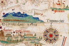 The Cantino planisphere from 1502 is the earliest surviving map showing recent discoveries by Portuguese mariners in the east and west. This is thought to be the earliest map of America