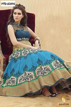 Fashionable Indian Inspired Western Wedding #Gown #Dresses Online@ http://www.pavitraa.in/catalogs/party-wear-gown-dresses-for-college-girls/?utm_source=mk&utm_medium=pinterestpost&utm_campaign=11July Free Shipping & COD in India Call / What's app : +91 7698234040