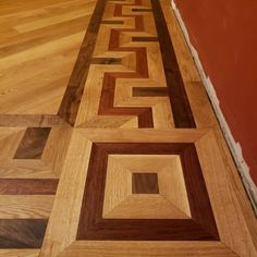 Faith Hardwood Flooring installed and finished this intricate floor for his wife for Christmas. Hardwood Floors, Flooring, Faith, Christmas, Wood Floor Tiles, Navidad, Weihnachten, Hardwood Floor, Yule