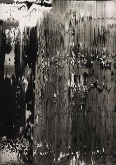 Gerhard Richter - Uran, 1989 Silver gelatin print on photo paper #Gerhard Richter