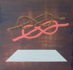 Ryan Stewart Nault. Chicago. Acrylic and Gouache on wood panel