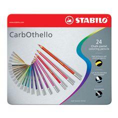 Stabilo® CarbOthello® Pastel Pencil SetStabilo CarbOthello Pastel Pencil Set, 24 Colors